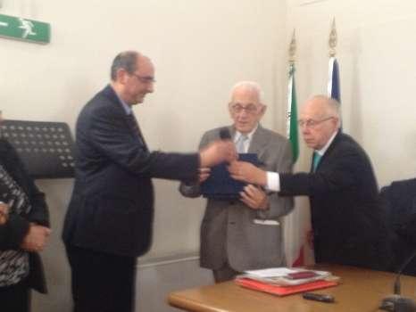 """Cerimonia di Conferimento del Premio Nazionale """" Ferdinando Palasciano """" – 2012"""