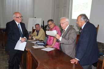 CONFERIMENTO PREMIO PALASCIANO PER LA STORIA DELLA CHIRURGIA – ANNO 2014