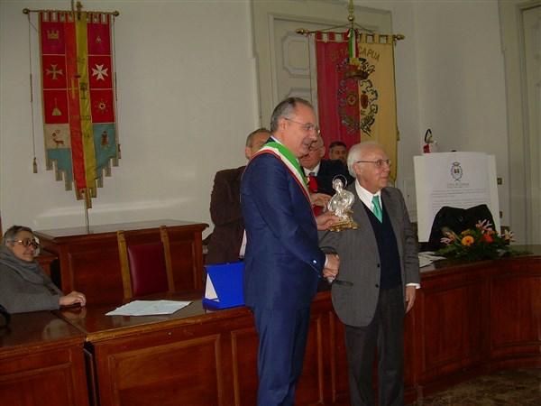 """Conferimento del """" Premio Sant'Agata 2015 """" al Dott. Antonio Citarella"""